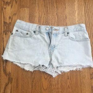 Levi super lowcut shorts